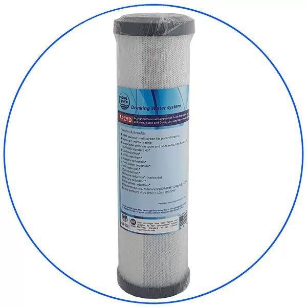 Aqua pure APCYD Φίλτρο Συμπαγούς Ενεργού Άνθρακα