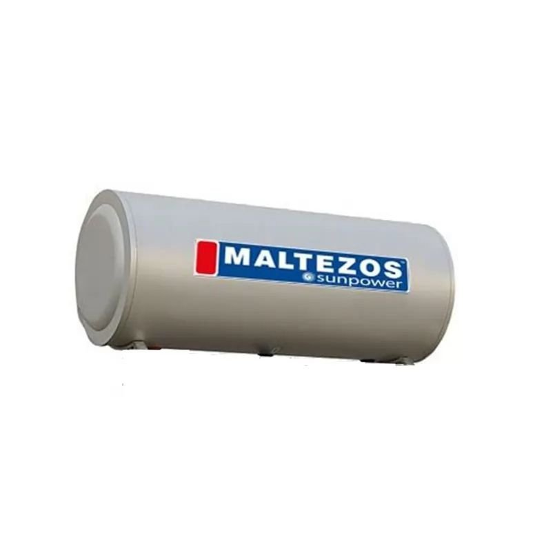 MALTEZOS SUNPOWER GLASS BOILER ΗΛΙΑΚΟΥ ΘΕΡΜΟΣΙΦΩΝΑ 125L 2E