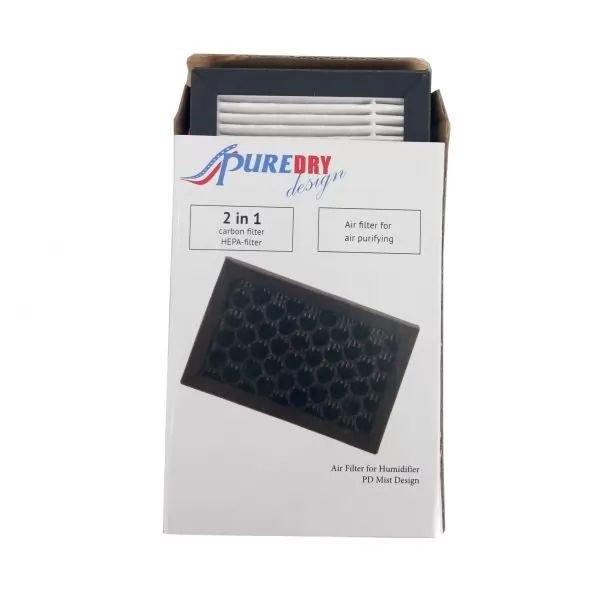 Φίλτρο Αέρα Hepa/Carbon Υγραντήρα PD Mist Design