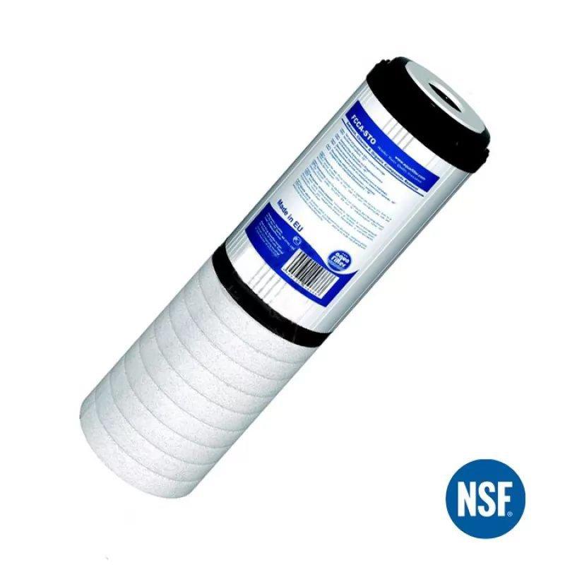 Φίλτρο Ενεργου Ανθρακα 2 Σταδιων Aqua Filter FCCA-STO