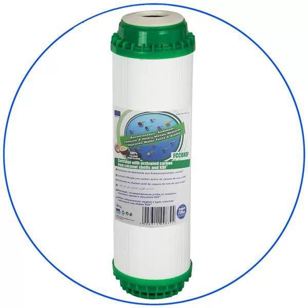 Φίλτρο Ενεργού ανθρακα Aqua Filter FCCBKDF 10''