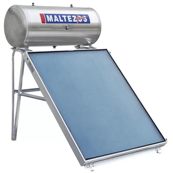 Ηλιακος Θερμοσιφωνας Maltezos Glass GL 200Lt /2E/ SAC 130x200