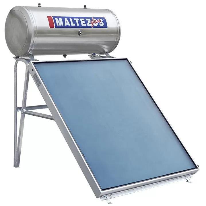 Ηλιακος Θερμοσιφωνας Maltezos Glass GL R 160Lt /2E/ SAC 130x150 Kεραμοσκεπής