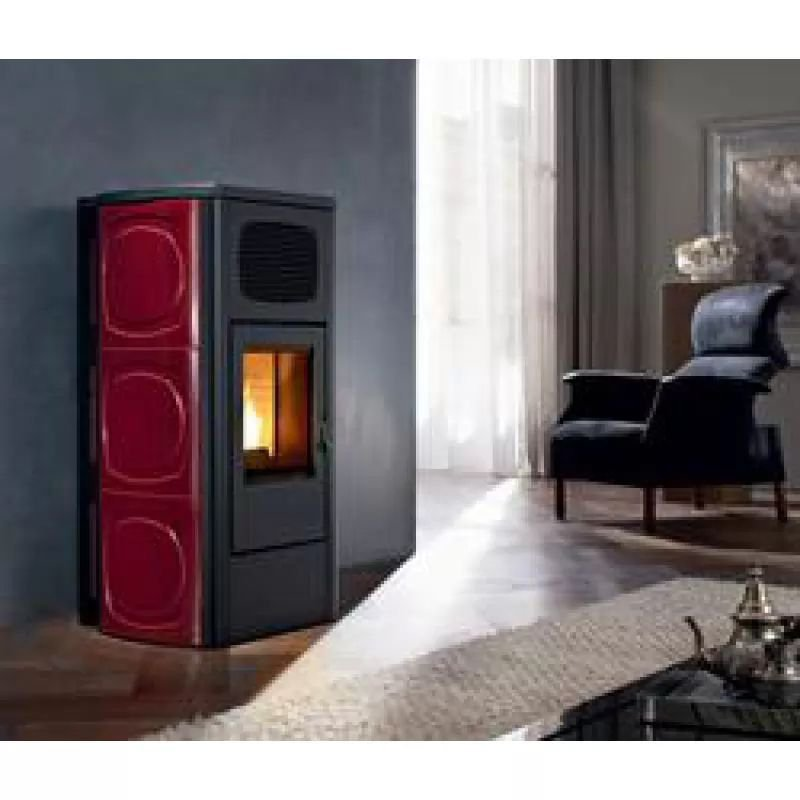 ΣΤΟΦΑ PELLET ΑΕΡΑ RED ORCHIDEA MULTIAIR 11KW