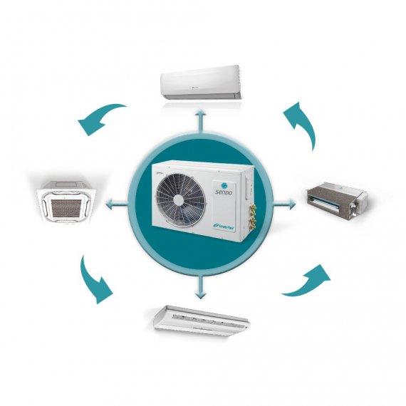 Κλιματιστικά Multi Inverter οικιακα επαγγελματικα