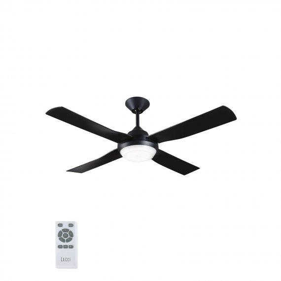 Ανεμιστήρας Οροφής Lucci Air Banksia Black LED