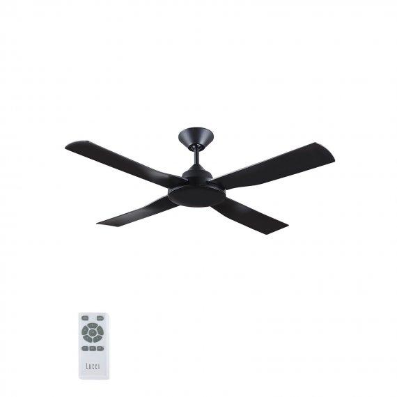Ανεμιστήρας Οροφής Lucci Air Banksia Black NL DC