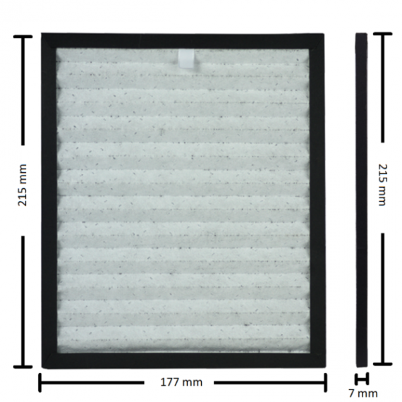 Φίλτρο Hepa-Carbon puredry Famous (PDD 10L, PDD8519, PDD85200)