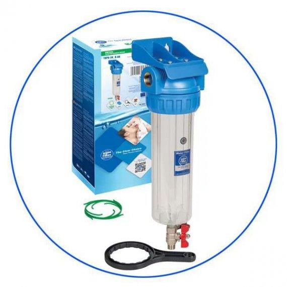 """Φίλτρο Κεντρικής Παροχής Αυτοκαθαριζόμενο Aqua Filter 1/2"""""""