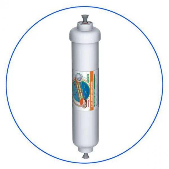 Φίλτρο Ψυγείου Ενεργού Άνθρακα In-Line 2 x10 AICRO-QC