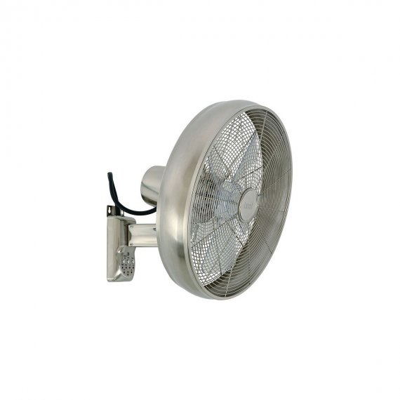 Lucci Air Breeze Wall Fan Brushed Chrome