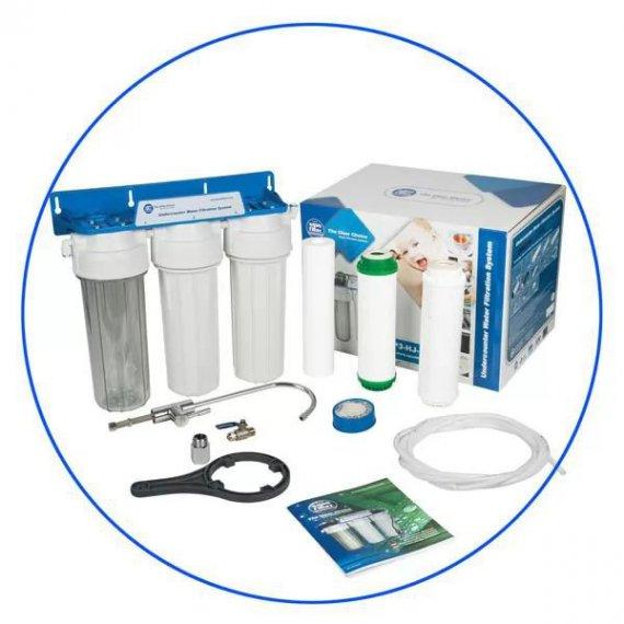 Σύστημα Φίλτρανσης Κάτω Πάγκου 3 Σταδίων FP3-K1 Aqua Filter