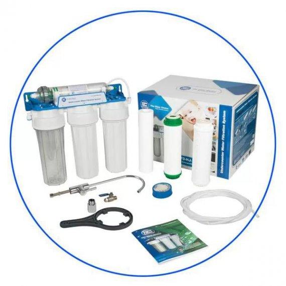 Σύστημα Φίλτρανσης Κάτω Πάγκου FP3-HJ-K1 4 Σταδίων Aqua Filter